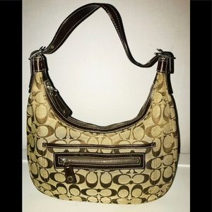 Coach Signature Hobo Bag